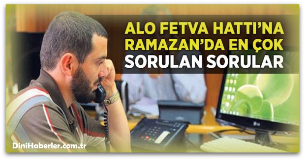 Ramazan\'da En Çok Sorulan Sorular