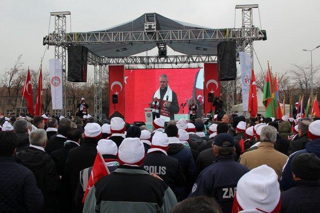 SARIKAMIŞ ŞEHİTLERİ KAYSERİ'DE ANILDI