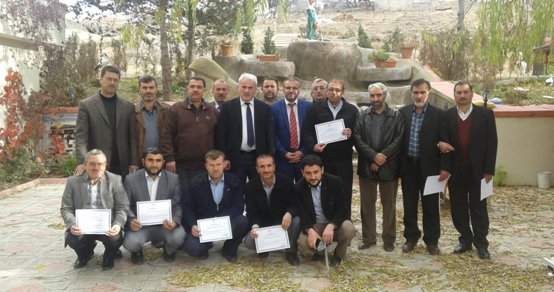 Sarıkaya\'da Kur'an-ı Kerim Hizmet İçi Eğitim Kursu başarıyla tamamlandı.