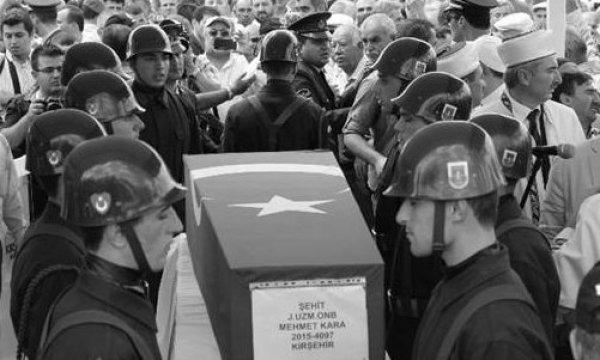 Şehit cenazesinde Bir Tepkide Kırşehir Müftüsü'ne