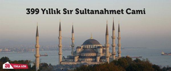 Sultanahmet Camii 399'ncu yıldönümü