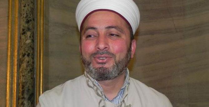 Sultanahmet Camii\'nde İngilizce hutbe