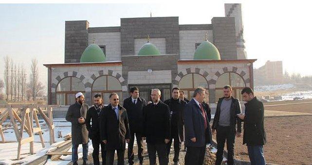 Talas'ta Yapımı Devam Eden Camilere İnceleme