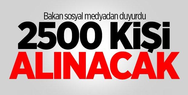 Tarım Bakanlığı 2 bin 500 personel alacak