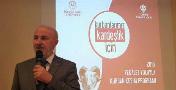 TDV vekaletle kurban kesim programı İzmir bölge toplantısı yapıldı