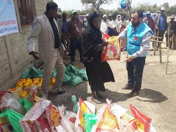 TDV'den kuraklık yaşanan Etiyopya'ya insani yardım