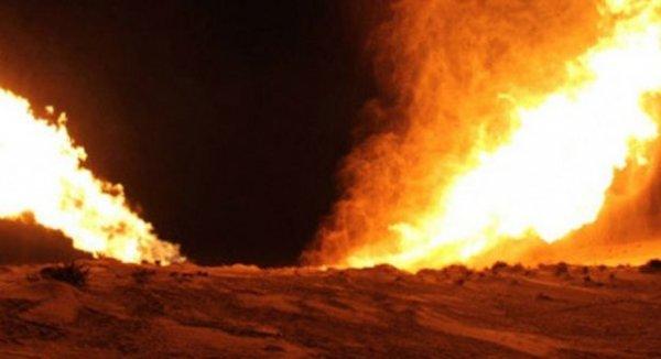 Teröristler Kars'ta doğalgaz boru hattına saldırdı
