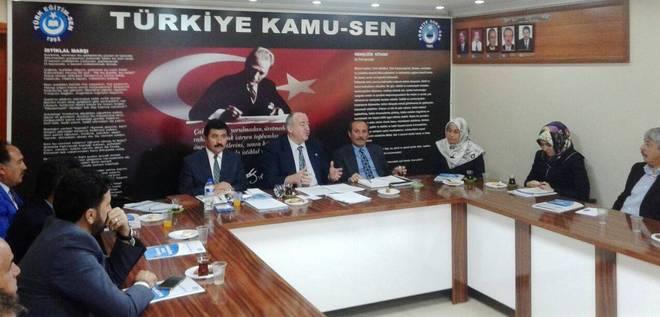 Türk Diyanet Vakıf-Sen Adana'ya Çıkarma Yaptı