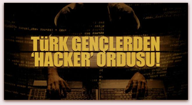 Türk gençlerden 'hacker' ordusu