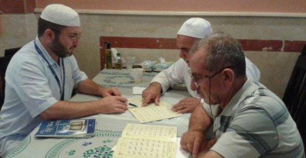 Türk Hacıları Kutsal Topraklarda Kur'an öğreniyorlar