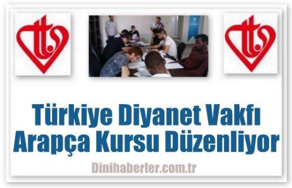 Türkiye Diyanet Vakfı'ndan Arapça kursu