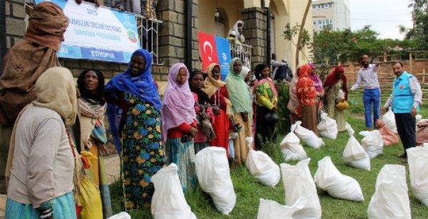 Türkiye Diyanet Vakfı'ndan Etiyopya'ya Ramazan yardımı