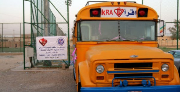 Türkiye Diyanet Vakfı'ndan Kerkük'e mobil kütüphane