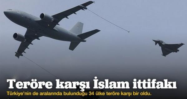 Türkiye \'Teröre karşı İslam ittifakı\'na dahil oldu