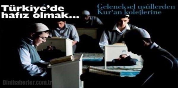 Türkiye'de hafız olmak