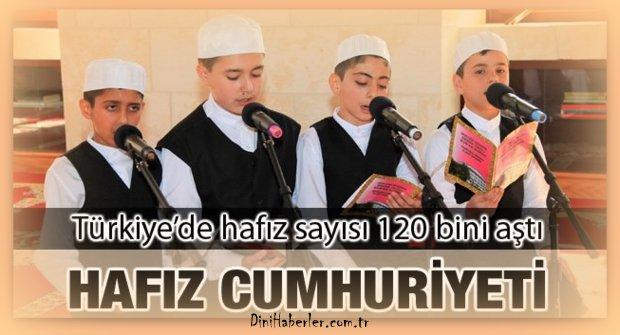 Türkiye\'de Hafız Sayısı 121 Bini Geçti