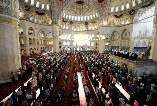 Türkiye'de Ramazan Bayramı kutlanıyor
