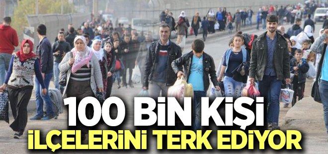 Vatandaşlar Cizre ve Silopi\'yi terk ediyor