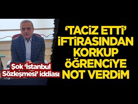 İstanbul Sözleşmesi'yle şantaja maruz kalan Prof. Naki Erdemir'den önemli açıklamalar