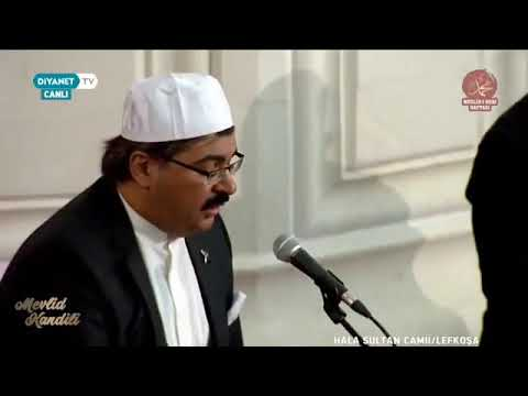 """KKTC Lefkoşa Hala Sultan Camii'nde """"Mevlid Gecesi Özel"""" programı"""